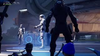 Full Fortnite Star Wars Event! (J.J. Abrams, Trailer and Lightsaber gameplay)