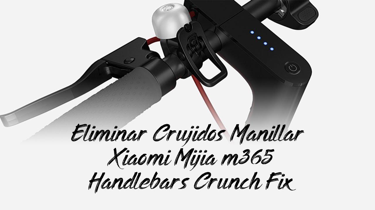 Eliminar Crujidos en Manillar/Tija 🛴 Xiaomi Mijia M365 mi scooter #1