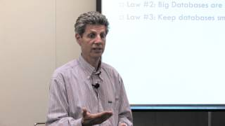 Laws of Sharding for Big Databases and Small Databases