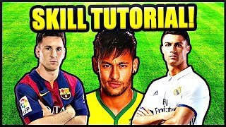 Ronaldo/Neymar/Messi Football Style Inspired Skill Tutorial ★