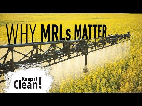 Keep it Clean! - Why MRLs Matter