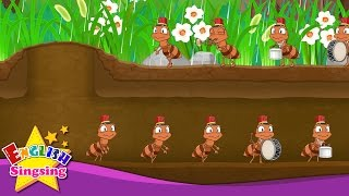 The Ants Go Marching - Ants Go Marching - popular music song - Nursery Rhyme with lyrics