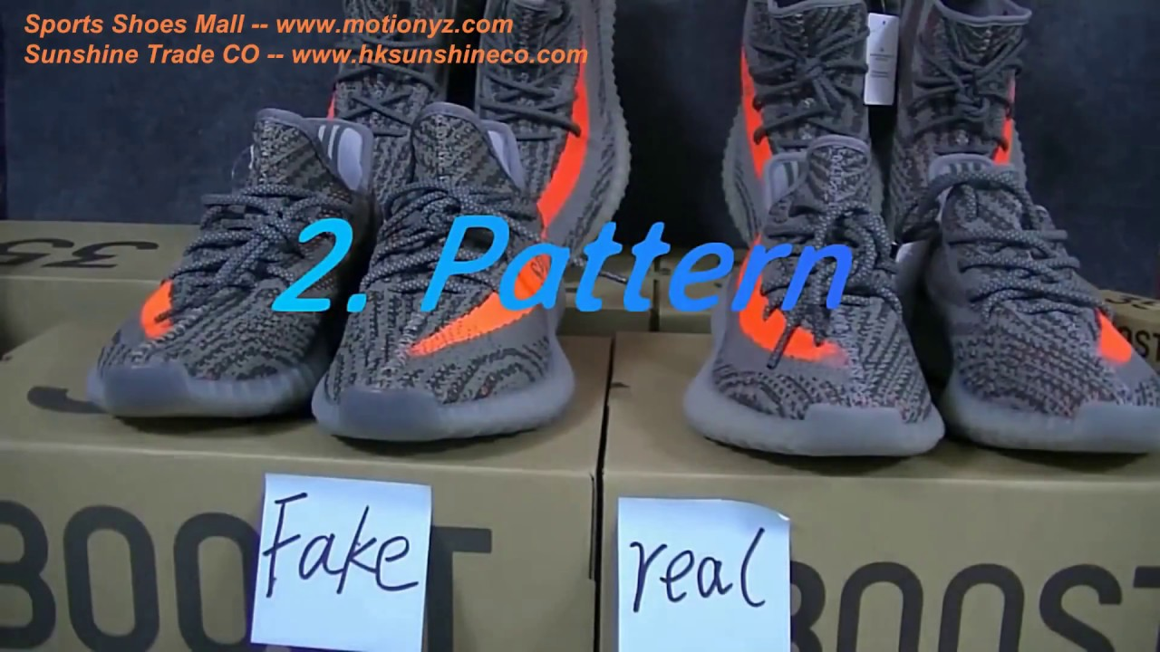 Wholesale Best authentic Adidas Yeezy Boost 350 V2 Sply Beluga Real VS Fake  Comparison Review Dhgate