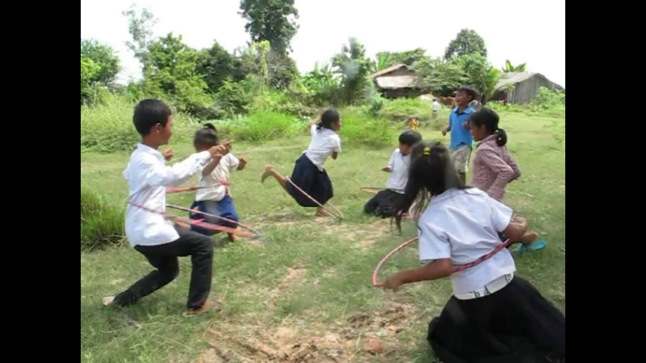 Game Energy Ring Cycle Kids Game Cambodia Children