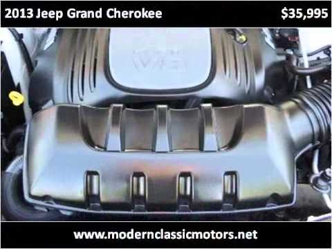 2013 jeep grand cherokee used cars grand junction co youtube for Modern classic motors grand junction co