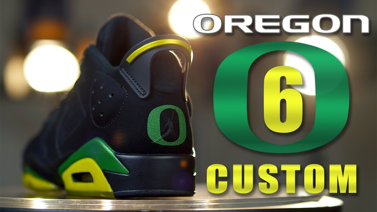 air jordan retro 6 oregon