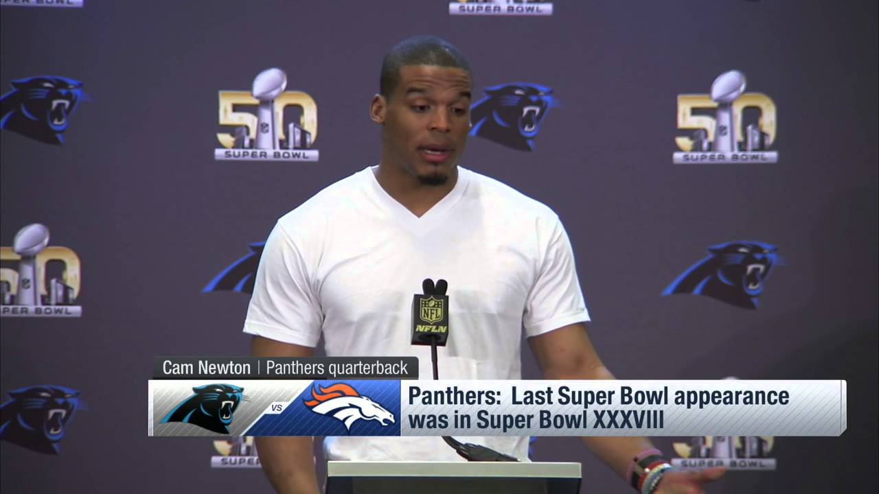 Cam Newton On The Topic Of Race in Super Bowl 50, 'This is Bigger Than Race'