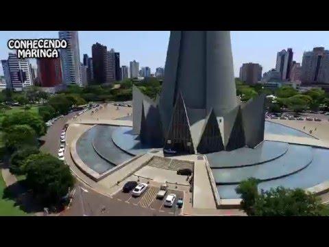 Conhecendo Maringá Video voando pela cidade (Flying in the city)