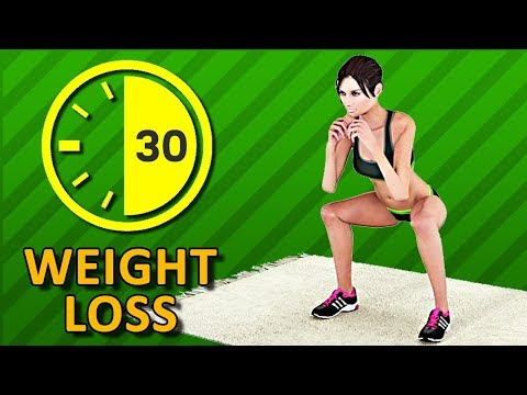 Half An Hour Weight Loss - 30 Min Home Workout To Burn Fat