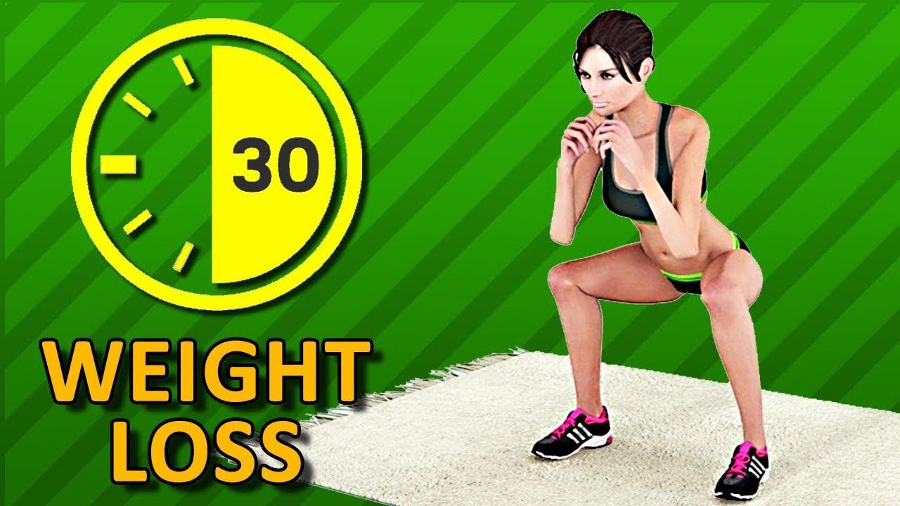 Half An Hour Weight Loss - 30 Min Home Workout To Burn Fat