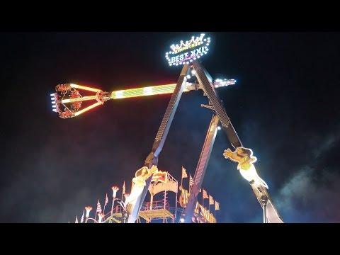 Stuttgart german attractions Best XXL exclusive Zinnecker, Wilde Maus 4K Volksfest Cannstatter Wasen