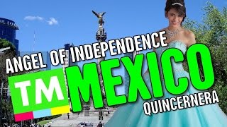 Angel of Independence & Quinceañera, Mexico
