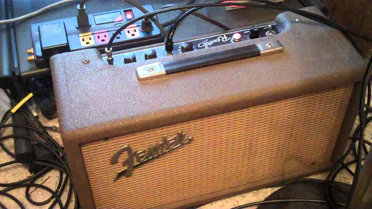 Vintage Fender Reverb Unit Demo