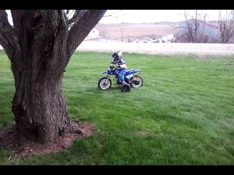 Who said 3 years old is to young for a Yamaha PW50