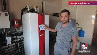 Отопление частного дома Тепловым Насосом Грунт Вода вместо твердотопливного котл
