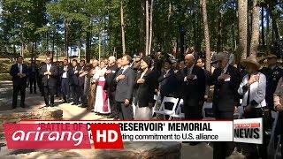 xx South Korean President Moon kicks off U.S. visit by emphasizing blood alliance