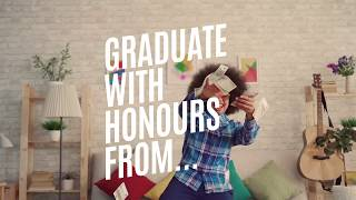 Graduate with honours from the university if good budgeting!
