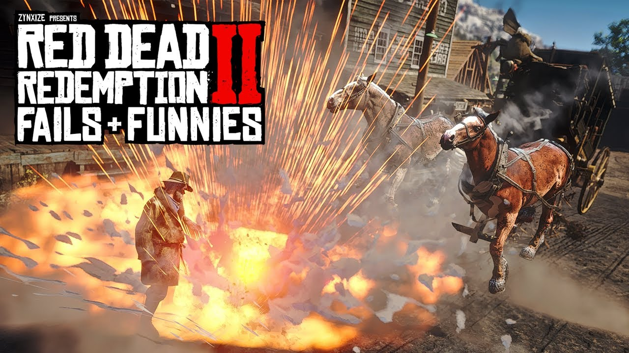Red Dead Redemption 2 - Fails & Funnies #122 thumbnail