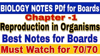 Biology Lecture Of 12Th Class Chapter 1