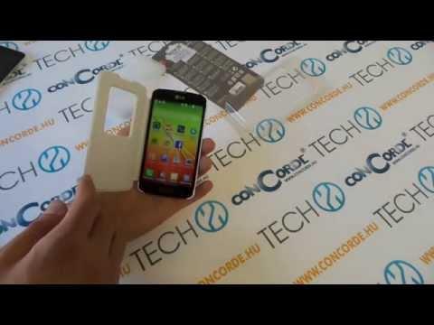 LG F70 Quick Window védőtok bemutató videó