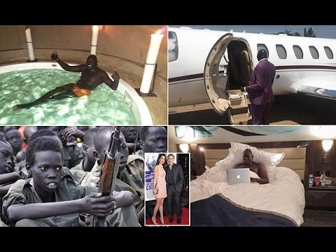 Brutal general's stepson  South Sudanese playboy flaunts his wealth on social media