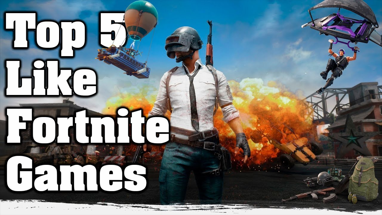 Top 5 Like Fortnite Games Gameplay Video Android Ios Youtube
