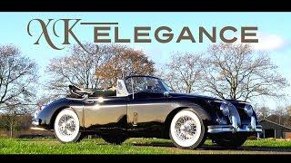 JAGUAR XK150 DHC 1959 - Test drive in top gear - Engine sound | SCC TV