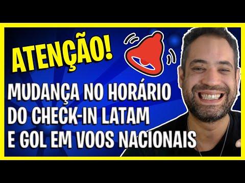 ATENÇÃO - MUDANÇA NO CHECK-IN LATAM E GOL EM VOOS NACIONAIS!