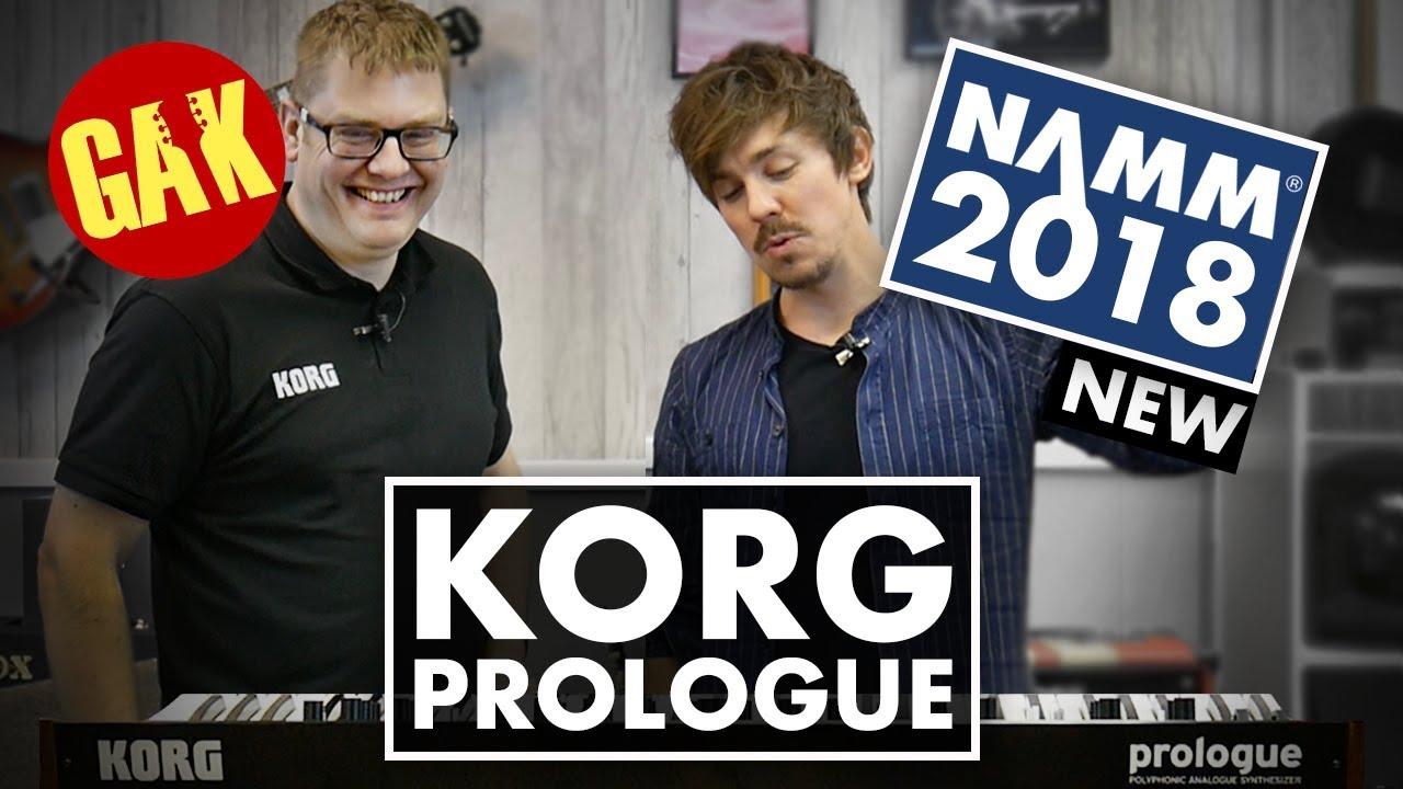 Korg Prologue ist ein bis zu sechzehnstimmiger analoger