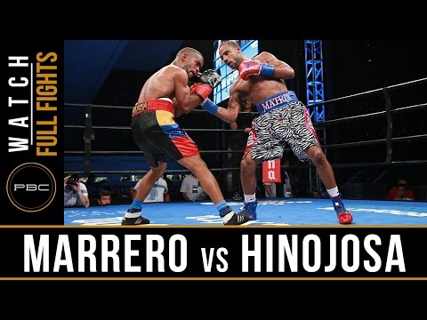 Marrero vs Hinojosa FULL FIGHT: August 21, 2016 - PBC on NBCSN
