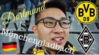 Borussia Dortmund 2-1 Borussia Mönchengladbach - Germany Vlog Part 1