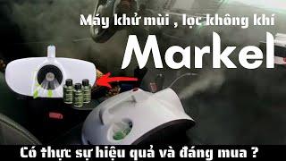 Máy khử mùi ô tô Markel có tốt không ? Mua máy khử mùi Markel ở đâu , bao nhiêu tiền ?