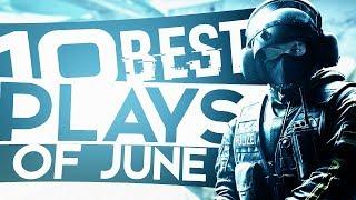 CS:GO - 10 BEST Plays Of June!