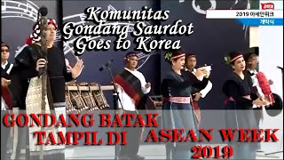 Download lagu Woww, Kereennn!!! Tortor dan Gondang Batak mewakili Indonesia di PENTAS DUNIA