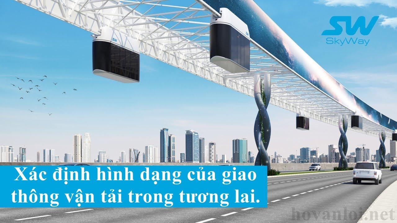 Xác định hình dạng của giao thông vận tải trong tương lai | SkyWay