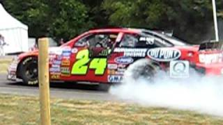 By far the best burn out at Goodwood 2009