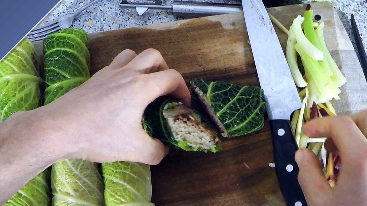 wirsing wraps mit reis bohnenmus vegan glutenfrei rezept youtube. Black Bedroom Furniture Sets. Home Design Ideas