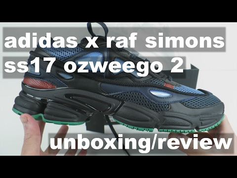Adidas x Raf Simons SS17 Ozweego 2 'Night Marine' - Unboxing, Review, On-Foot