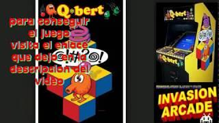 Q-bert --@!#?@!--JUEGO AÑO 1982 ARCADE  portable  PARA PC