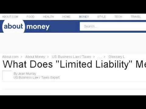 LIMITED LIABILITY PARTNERSHIP MEAN