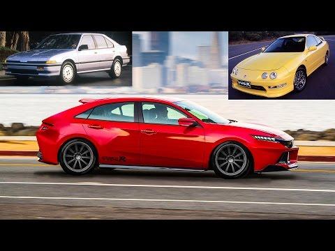 2020 Acura Integra Type-R Concept - Similar to Honda Civic Type-R USA release & specs