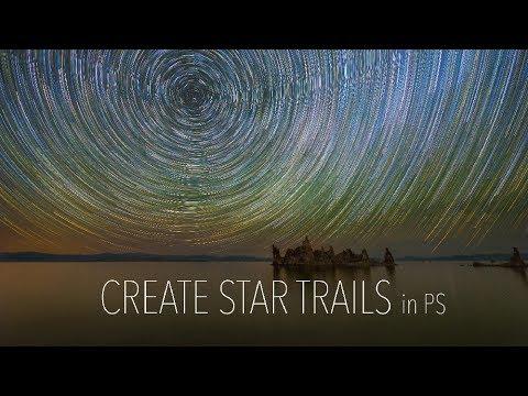 Create AMAZING Star Trails Like A PRO Using Adobe PS
