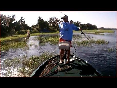Central Florida Bass Fishing with Gambler Big EZ & Captain Shane