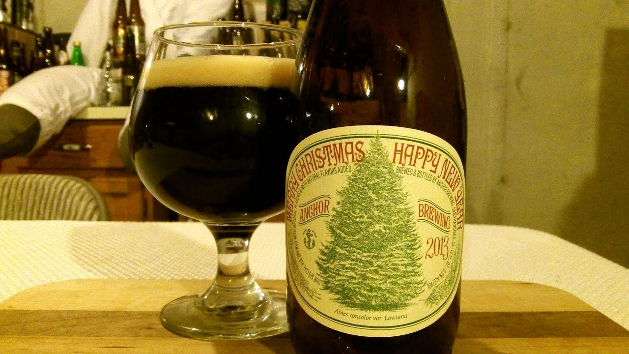 anchor brewing company christmas ale 2013 55 abv djs brewtube beer review 436 youtube - Anchor Brewing Christmas Ale
