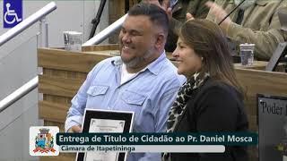 10ª Sessão Solene - Pastor Daniel Mosca - 2019