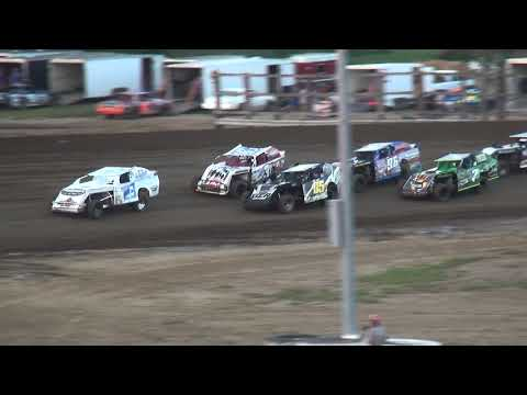 IMCA Sport Mod Season Championship feature Independence Motor Speedway 8/19/17