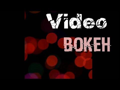 Video Bokeh Full Lights Background