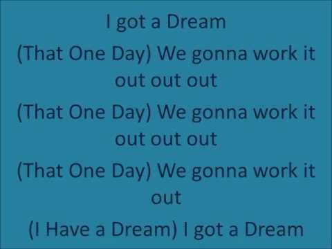 I HAVE A DREAM-common ft. Will.I.Am LYRICS (Freedom writers)