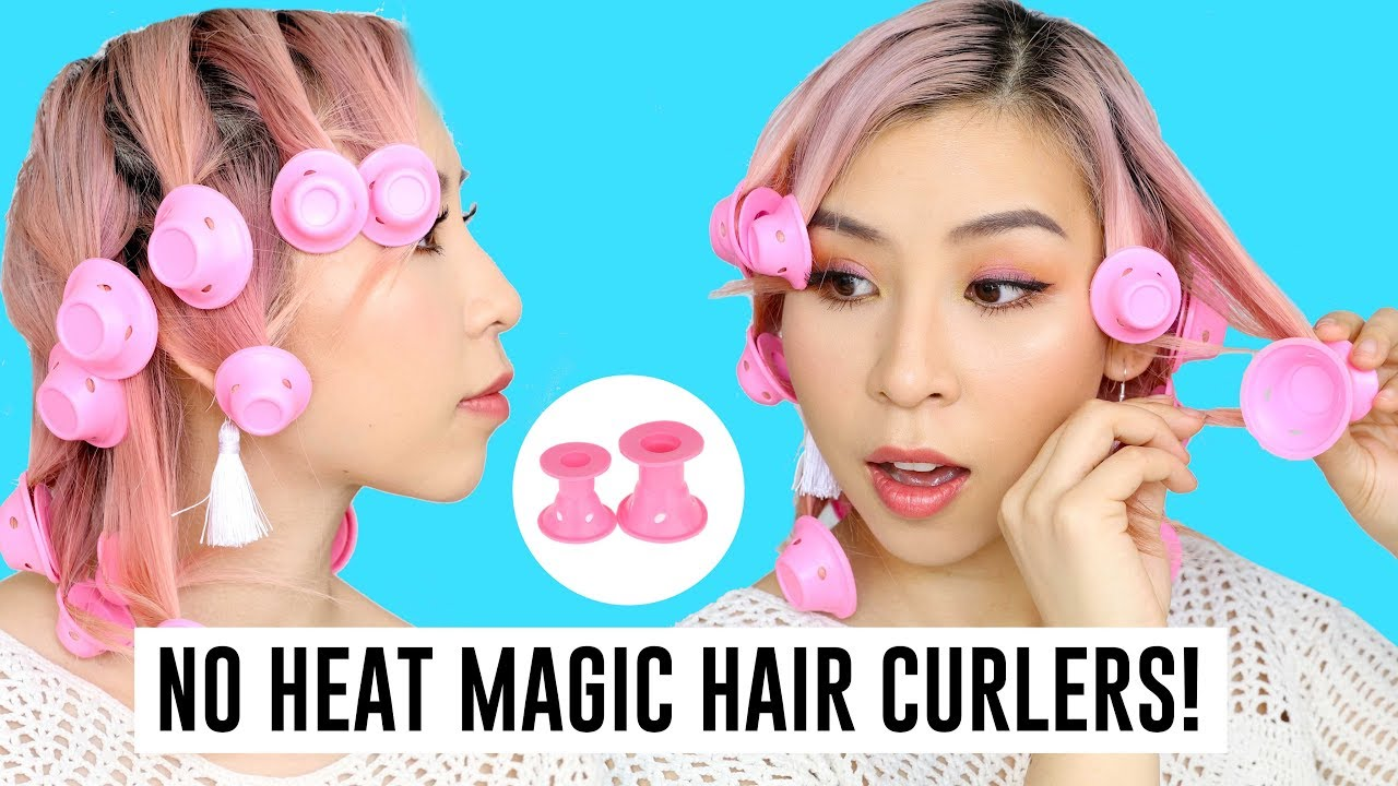 No Heat Magic Silicone Hair Curlers – TINA TRIES IT