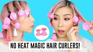 No Heat Magic Silicone Hair Curlers - TINA TRIES IT